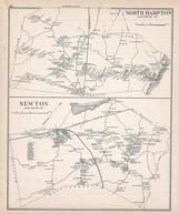 Hampton North, Newton, New Hampshire State Atlas 1892 Uncolored